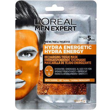 L'Oreal Men Expert – maska w płachcie Hydra Energetic (1 szt.)