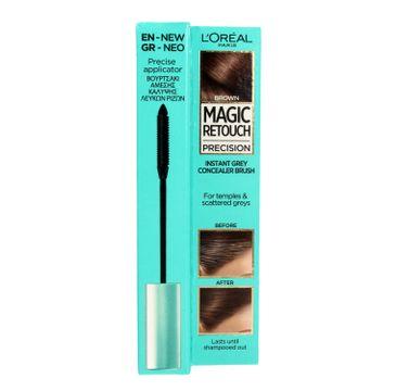 L'Oreal Magic Retouch Precision szczoteczka do retuszu odrostów Brąz (8 ml)