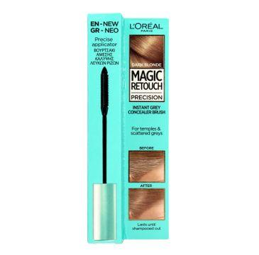 L'Oreal Magic Retouch Precision szczoteczka do retuszu odrostów Ciemny Blond (8 ml)