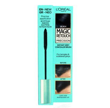L'Oreal Magic Retouch Precision szczoteczka do retuszu odrostów Czarny (8 ml)