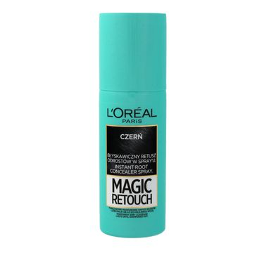 L'Oreal Magic Retouch spray do odrost贸w nr 1 Czer艅 (75 ml)