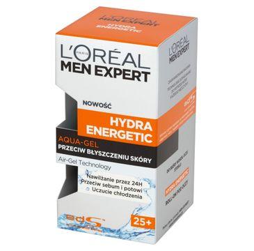 L'Oreal Men Expert Hydra Energetic Aqua-Gel przeciw błyszczeniu się skóry 25+ (50 ml)