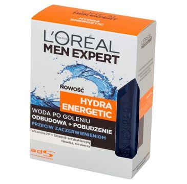 L'Oreal Men Expert Hydra Energetic woda po goleniu przeciw zaczerwienieniom (100 ml)