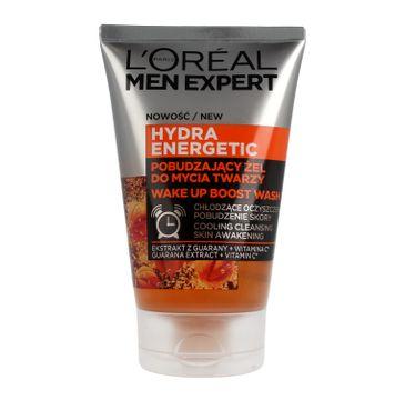 L'Oreal Men Expert Hydra Energetic pobudzający żel do mycia twarzy (100 ml)