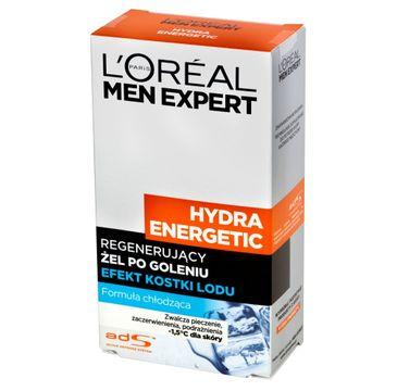 L'Oreal Men Expert Hydra Energetic żel po goleniu efekt kostki lodu (100 ml)
