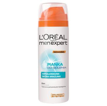 L'Oreal Men Expert Sensitive pianka do golenia (200 ml)