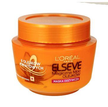 L'Oreal Paris Elseve Magiczna Moc Olejków odżywcza maska balsam do włosów suchych (300 ml)