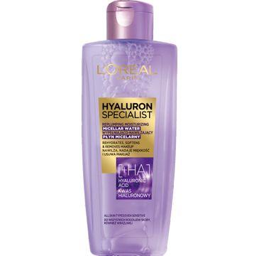 L'Oreal Paris Hyaluron Specialist – płyn micelarny wypełniająco-nawilżający (200 ml)