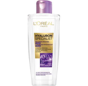 L'Oreal Paris Hyaluron Specialist – tonik wypełniająco-wygładzający (200 ml)