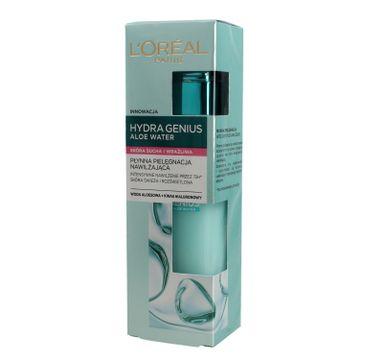 L'Oreal Paris Hydra Genius Aloe Water płynna pielęgnacja nawilżająca skóra sucha i wrażliwa (70 ml)