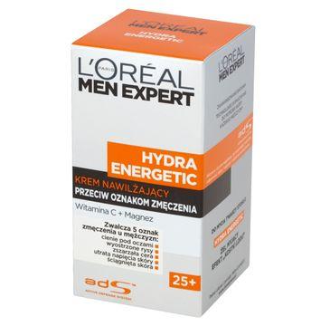 L'Oreal Paris Men Expert Hydra Energetic – krem nawilżający przeciw oznakom zmęczenia 25+ (50 ml)