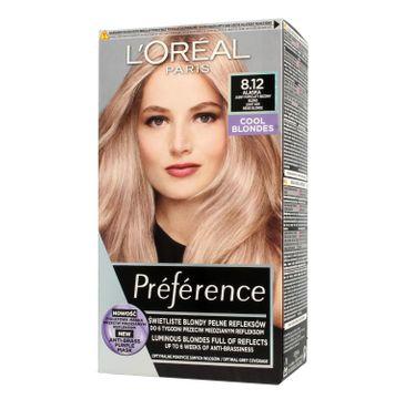 L'Oreal Paris Preference – farba do włosów nr 8.12 Alaska (1 op.)