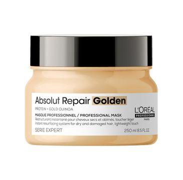 L'Oreal Professionnel Serie Expert Absolut Repair Golden Mask złota maska regenerująca do włosów zniszczonych (250 ml)