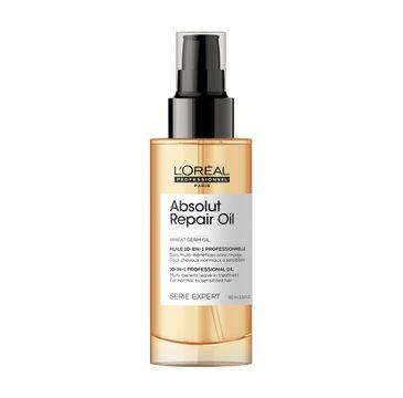 L'Oreal Professionnel Serie Expert Absolut Repair Oil 10in1 olejek do włosów normalnych i uwrażliwionych (90 ml)