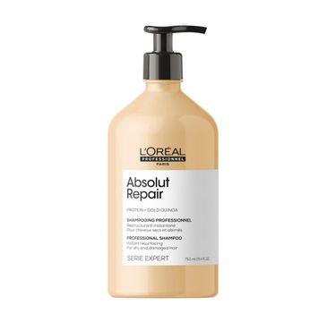 L'Oreal Professionnel Serie Expert Absolut Repair Shampoo regenerujący szampon do włosów zniszczonych (750 ml)