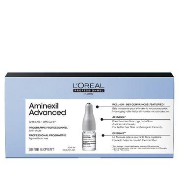 L'Oreal Professionnel Serie Expert Aminexil Advanced zaawansowana kuracja przeciw wypadaniu włosów (10 x 6 ml)