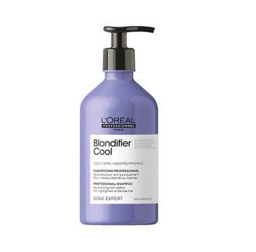L'Oreal Professionnel Serie Expert Blondifier Cool Shampoo szampon do włosów dla chłodnych odcieni blond (500 ml)
