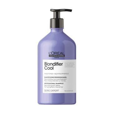 L'Oreal Professionnel Serie Expert Blondifier Cool Shampoo szampon do włosów dla chłodnych odcieni blond (750 ml)