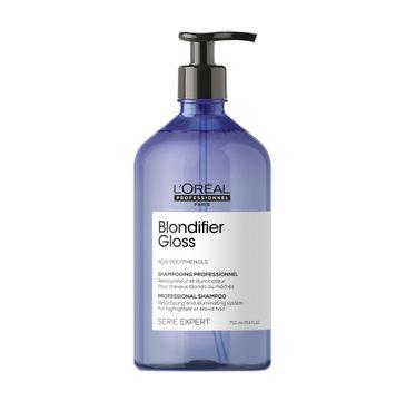 L'Oreal Professionnel Serie Expert Blondifier Gloss Shampoo szampon nabłyszczający do włosów blond (750 ml)