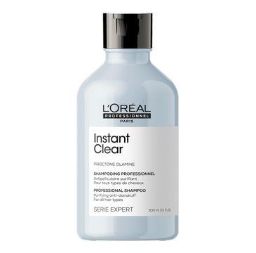 L'Oreal Professionnel Serie Expert Instant Clear Shampoo szampon przeciwłupieżowy do włosów normalnych i przetłuszczających się (300 ml)