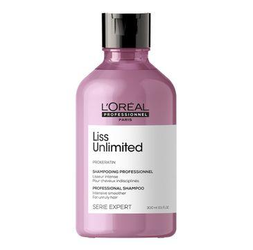 L'Oreal Professionnel Serie Expert Liss Unlimited Shampoo szampon intensywnie wygładzający włosy niezdyscyplinowane (300 ml)