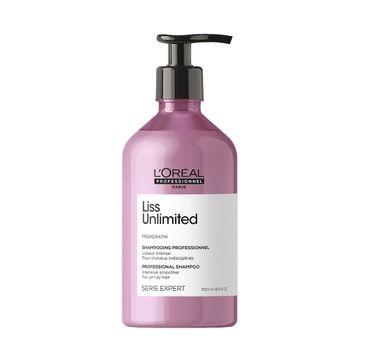 L'Oreal Professionnel Serie Expert Liss Unlimited Shampoo szampon intensywnie wygładzający włosy niezdyscyplinowane (500 ml)