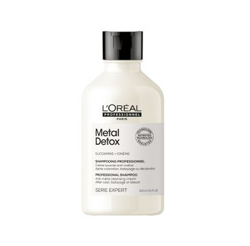 L'Oreal Professionnel Serie Expert Metal Detox Shampoo szampon zabezpieczający włosy po zabiegu koloryzacji (300 ml)