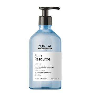 L'Oreal Professionnel Serie Expert Pure Resource Shampoo szampon do włosów przetłuszczających się (500 ml)