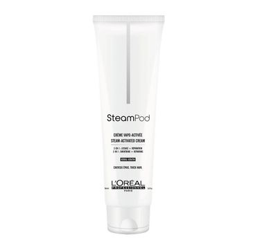 L'Oreal Professionnel Steampod Smoothing Cream odbudowujący krem wygładzający do włosów grubych (150 ml)