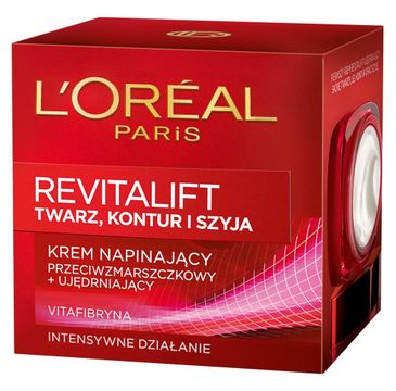 L'Oreal Revitalift krem do twarzy i szyi napinający przeciwzmarszczkowy i ujędrniający (50 ml)