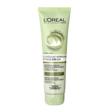 L'Oreal Skin Czysta Glinka Expert żel do twarzy oczyszczający (150 ml)