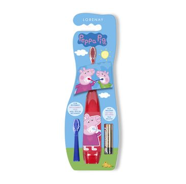 Lorenay Peppa Pig elektryczna szczoteczka do zębów dla dzieci (1 szt.)