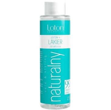 Loton 4 Naturalny lakier do włosów zapas (125 ml)