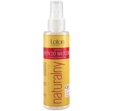 Loton 5 Płyn do włosów przetłuszczających z atomizerem (125 ml)