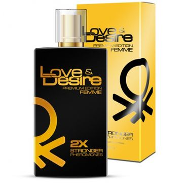 Love & Desire Premium Edition Femme 2x Stronger Pheromones feromony dla kobiet spray (100 ml)