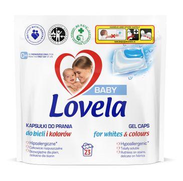 Lovela Baby hipoalergiczne kapsułki do prania do bieli i kolorów (23 szt.)