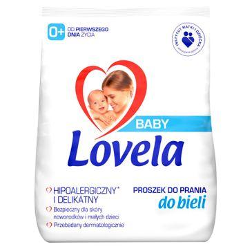 Lovela – Baby hipoalergiczny proszek do prania ubranek niemowlęcych i dziecięcych do bieli (1.3 kg)