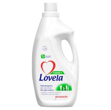 Lovela Family hipoalergiczny płyn do prania dla całej rodziny do kolorów (1.85 l)