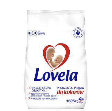 Lovela Proszek do prania ubranek niemowlęcych i dziecięcych do kolorów 1,625kg