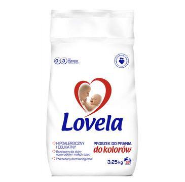 Lovela Proszek do prania ubranek niemowlęcych i dziecięcych do kolorów  3,25kg