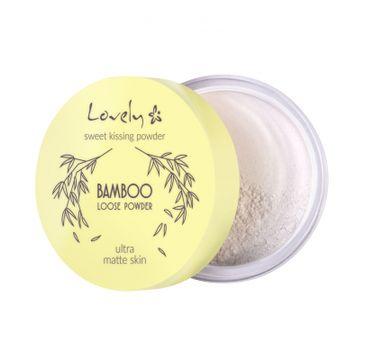 Lovely Bamboo Loose Powder transparentny puder bambusowy do twarzy (5.5 g)