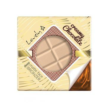 Lovely Creamy Chocolate Deep Matte Face Bronzer czekoladowy matowy puder brązujący do twarzy i ciała 9g