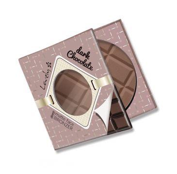 Lovely Dark Chocolate Deep Matte Face Bronzer czekoladowy matowy bronzer do twarzy i ciała 9g