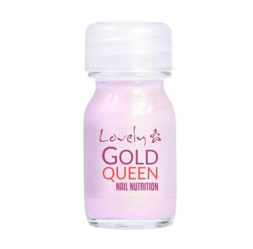 Lovely Gold Queen Nail Nutrition odżywka do słabych i rozdwojonych paznokci 10ml