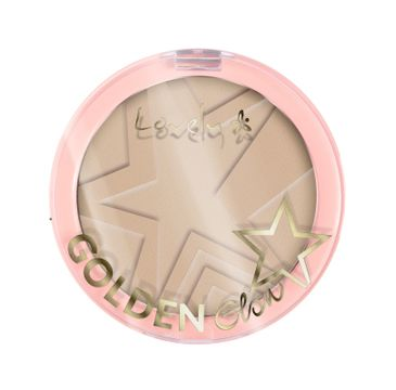 Lovely Golden Glow Powder puder do konturowania twarzy 2 Light Beige 10g