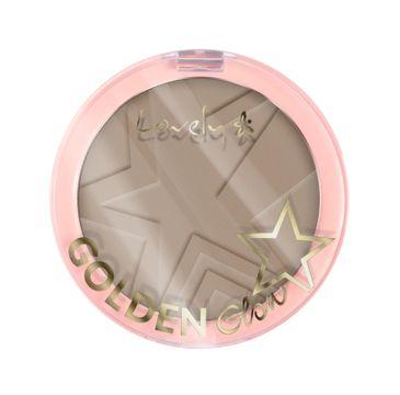 Lovely Golden Glow Powder puder do konturowania twarzy 3 Cool Brown 10g