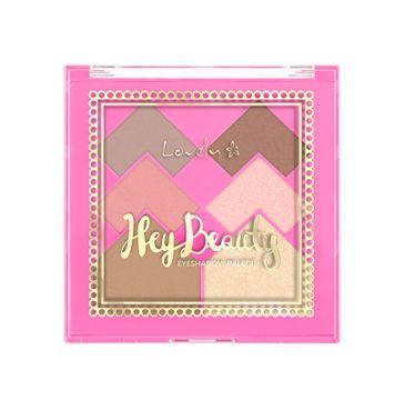 Lovely Hey Beauty Eyeshadow Palette wielofunkcyjna paleta do makijażu twarzy (18 g)