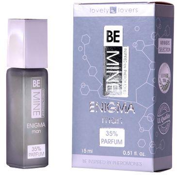 Lovely Lovers BeMine Enigma Man perfumy z feromonami zapachowymi spray (15 ml)