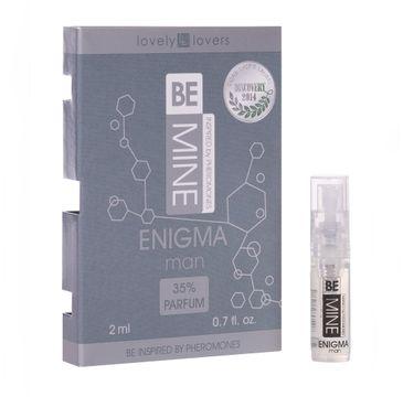 Lovely Lovers BeMine Enigma Man perfumy z feromonami zapachowymi spray (2 ml)
