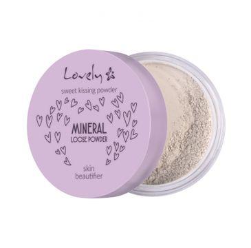 Lovely – Mineral Loose Powder mineralny silnie matujący puder do twarzy (5.5 g)
